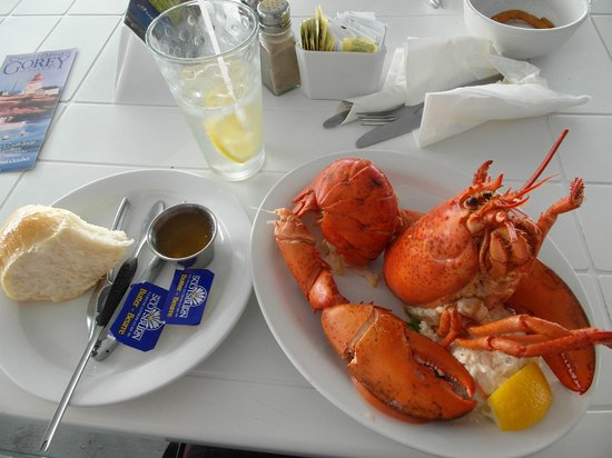 Sea Gull Restaurant: Delicious lobster dinner