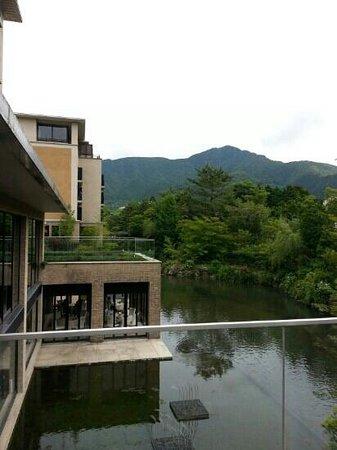 Hotel Harvest Hakone Koshien: ホテルハーベスト箱根甲子園のお庭からの眺めです