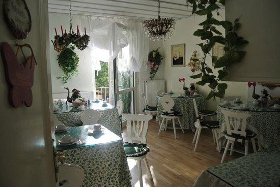 Pension Seibel: Breakfast room/Lobby