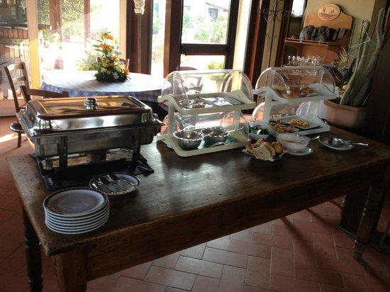 Locanda Le Boscarecce: Breakfast Buffet