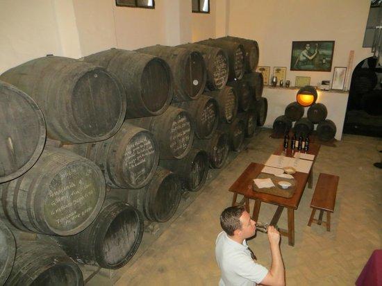 Bodegas Lagar Blanco: Tasting room