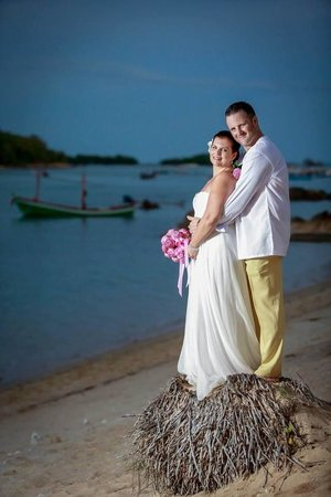 Nora Beach Resort and Spa: Our wedding