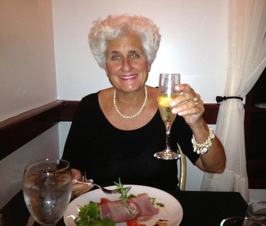 Old City House Inn and Restaurant: Here's to sixty!