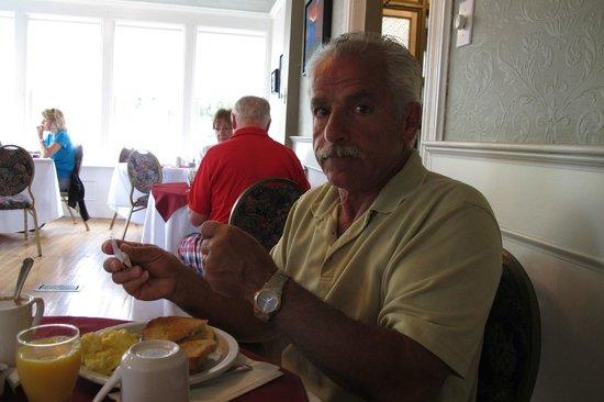 Eriksen Premises: Breakfast in the restaurant