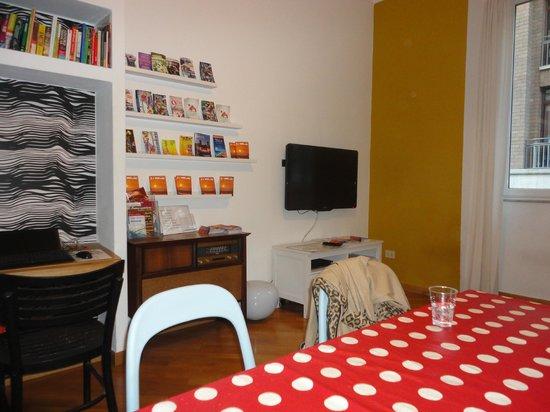 La Controra Hostel Rome: Comedor