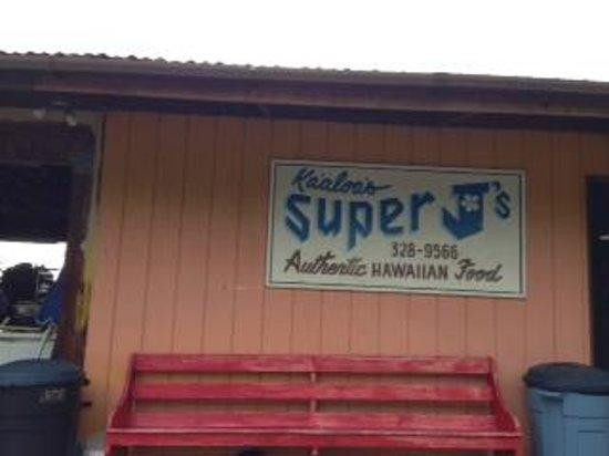 Ka'aloa's Super J's: お店の外見