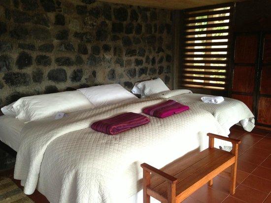 Hacienda Manteles : Bedroom of room 19