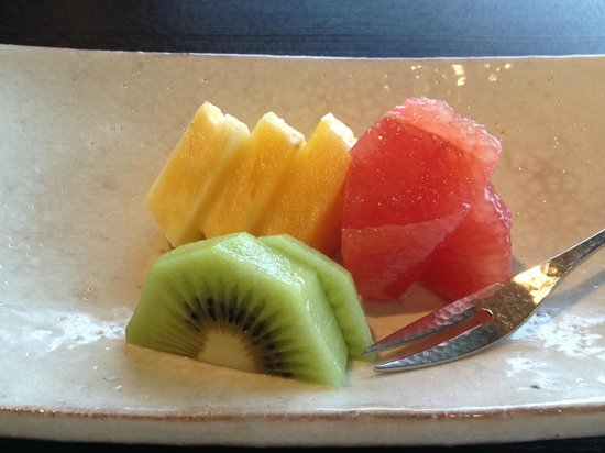 Atami Kaihoro: 朝食 フルーツ