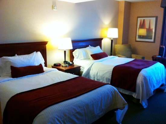Delta Hotels by Marriott Halifax: standard 2 doubles