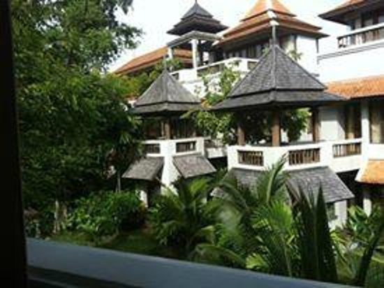 Royal Muang Samui Villas: Relaxing View from balcony