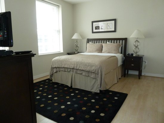 The Woodward: Main Bedroom