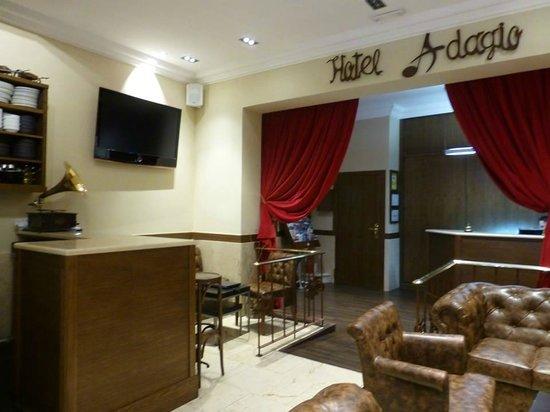 Hotel Adagio : ロビー