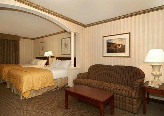 Comfort Inn & Suites Near Burke Mountain: Inside the room