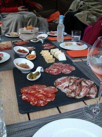 Dominique Colonna : assiettes spécialités locales