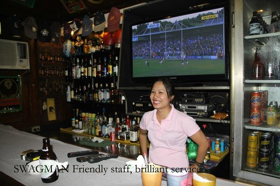 Swagman RPL Hotel Manila: All the staff are friendly, other hotels could learn from this