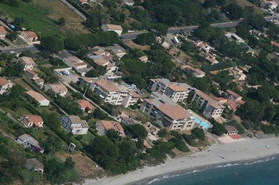 Marina Bianca Hotel: la résidence vue du ciel