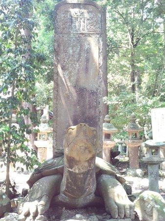 Gesshoji Temple: 大亀の像