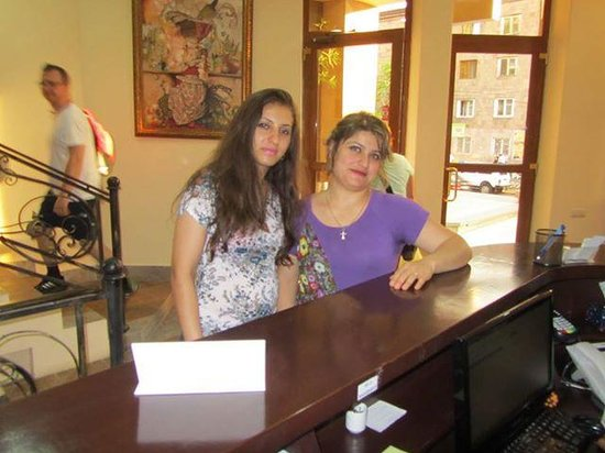 Deluxe Hotel Yerevan : reciption