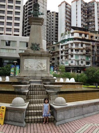 Hotel Royal Macau: The park near the hotel