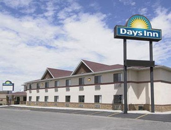 Welcome to the Days Inn Wall