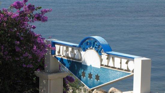 Hotel Villa Zarko : Vue du balcon de la chambre