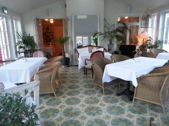 Strandflickornas Havshotell: The breakfast area