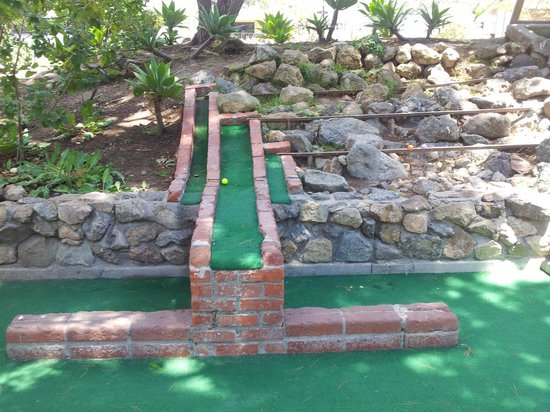 Golf Gardens Miniature Golf: One of the courses - 3 ways to go!