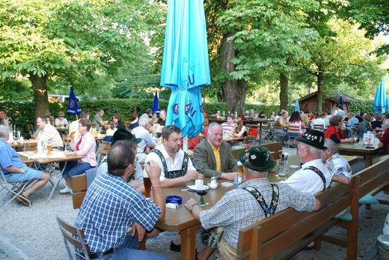 Biergarten Gasthof Stern: Biergarten