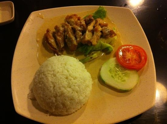 Kopi Ping Cafe: Butter Chicken Rice