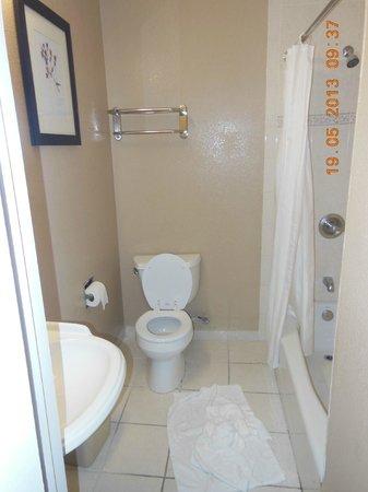 Saharan Motor Hotel: La salle de bains