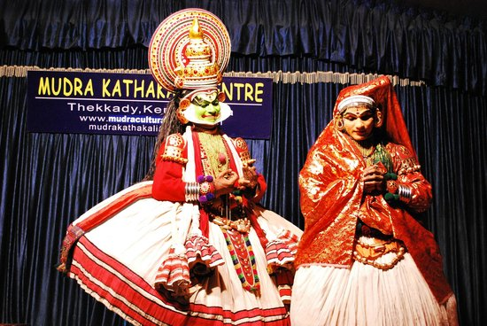 Mudra Cultural Centre: Kathakali performance - story of Jayantha and Nakrathundi