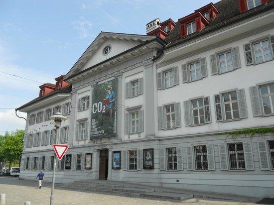Natur-Museum Luzern: Exterior elevation