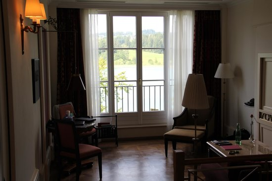 Schloss Fuschl Resort & Spa, Fuschlsee-Salzburg: Room and View from the Room