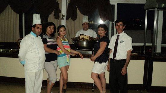 Galaxy Beach Hotel: повара-молодцы!!!
