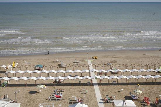 Hotel Mignon Riccione : Spiaggia