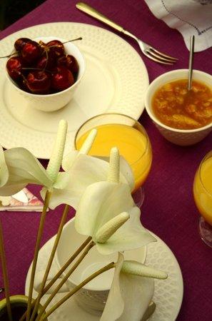 La Maison du Palmier : Petit-déjeuner