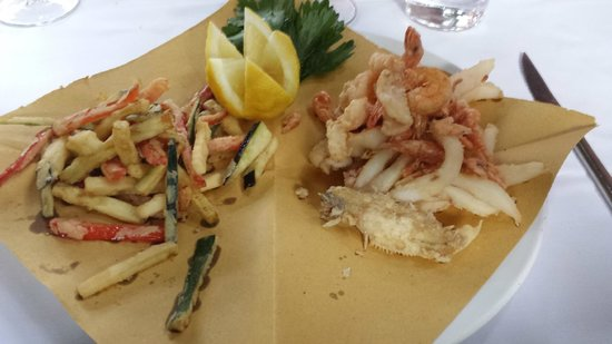 Baccaladivino : la fritturina