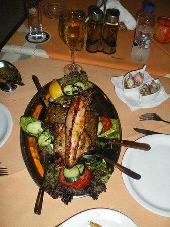 Fat Olive Arapis: Fish meze..