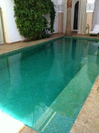 Riad Shama : La piscine