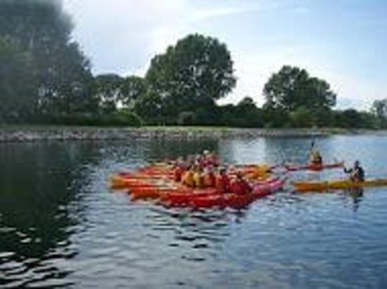 Kajakhotellet: The Lagoon