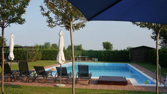 B&B La Taupiniere : The pool