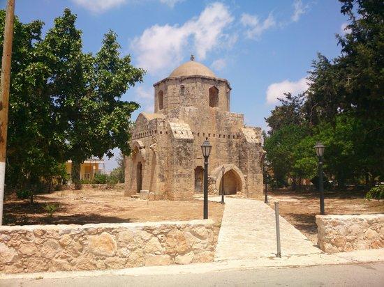 church near the villa