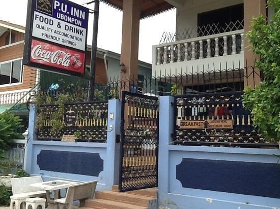 P.U. Inn Resort : entrance