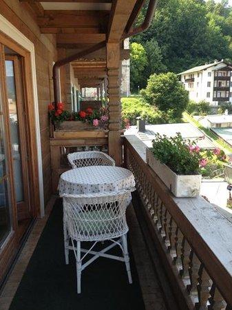 Haus Jermann: Balkon
