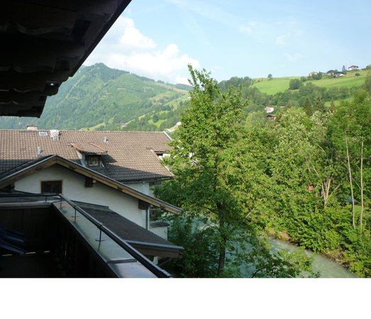 Pension Heidi : view from balcony looking left