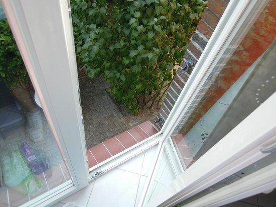 Hotel Arche Noah: Unser Balkon zum sterben.