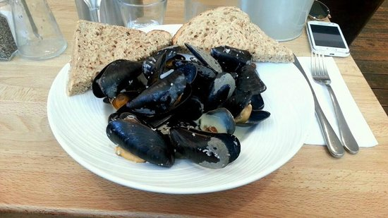 Seafood Cafe: Moules Mariniere