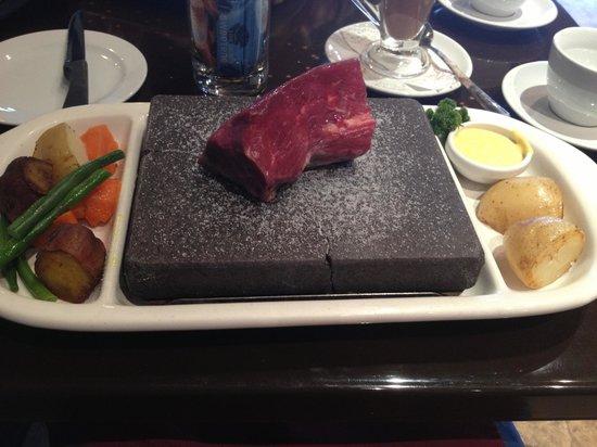 Triple 1 Five Restaurant : Stone-grilled Steak