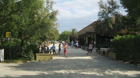 Camping Rubina Resort: Cerca del pequeño centro comercial