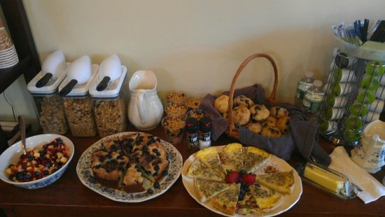 The WilloBurke Inn and Lodge : Breakfast at WilloBurke Inn & Lodge